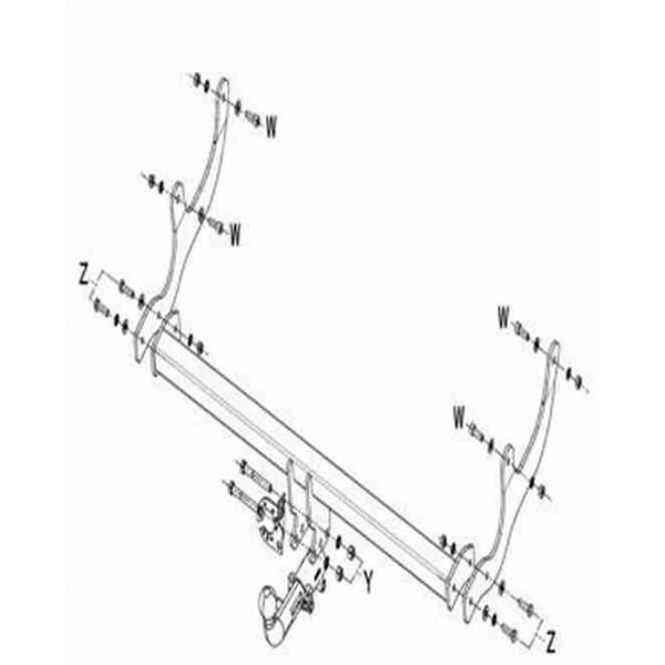 attelage dacia sandero stepway rdsoh 334. Black Bedroom Furniture Sets. Home Design Ideas