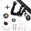 Attelage Fiat Freemont avec RS sous le plancher (09/11-) Col de cygne + faisceau universel 7 broches + boitier électronique