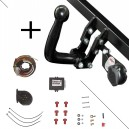 Attelage BMW SERIE 5 (03/10-) Col de cygne + faisceau universel 7 broches + boitier électronique