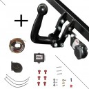 Attelage Dodge Caliber (01/06-) Col de cygne + faisceau universel 7 broches + boitier électronique