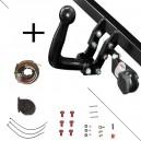 Attelage Hyundai Santa Fe (09/12-) Col de cygne + faisceau universel 7 broches + boitier électronique
