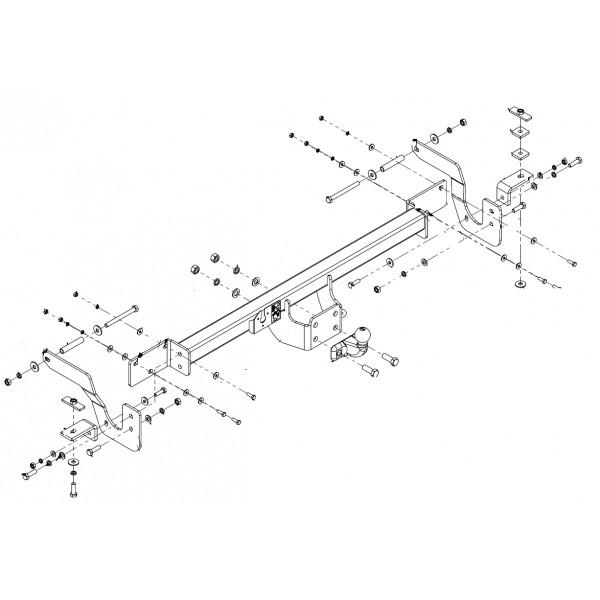 attelage fiat ducato fourgon standard 4413