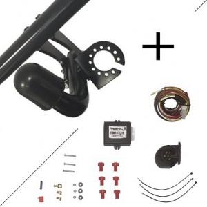 Attelage Ford Mondeo Break (11/14-) Col de cygne + faisceau universel 7 broches + boitier électronique
