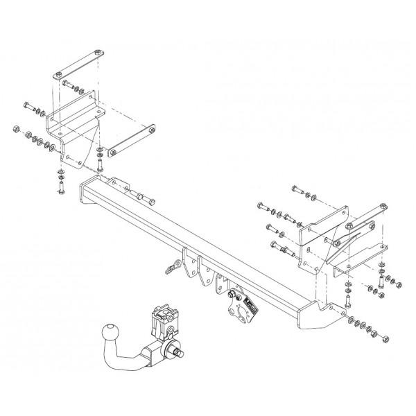 attelage renault kadjar rdsov 10444. Black Bedroom Furniture Sets. Home Design Ideas