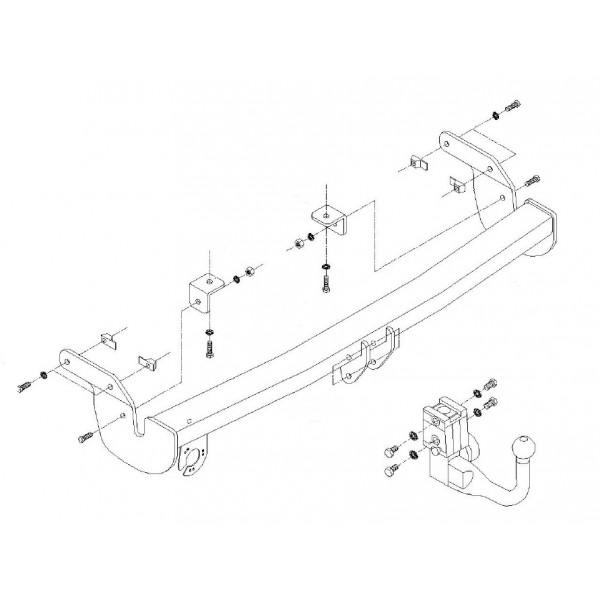 attelage peugeot 207 rdsov faisceau universel multiplex 7 broches 10509. Black Bedroom Furniture Sets. Home Design Ideas
