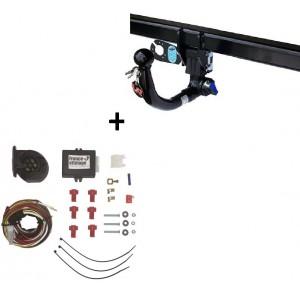 Attelage Fiat Doblo (02/10-) RDSOV + faisceau universel 7 broches + boitier électronique