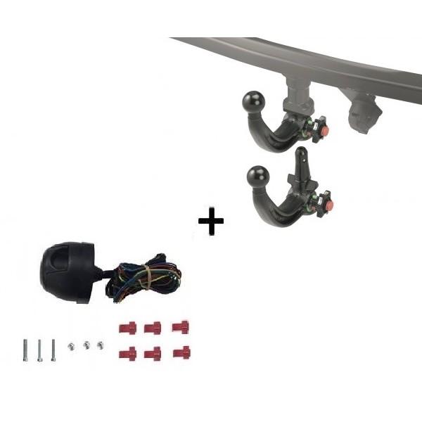 attelage renault scenic 2 rdsov faisceau universel 7 broches 13102. Black Bedroom Furniture Sets. Home Design Ideas