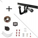 Attelage Lancia Musa (10/04-) Col de cygne + faisceau universel 7 broches + boitier électronique