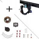 Attelage BMW X5 (06/00-12/06) RDSOV + faisceau universel 7 broches + boitier électronique