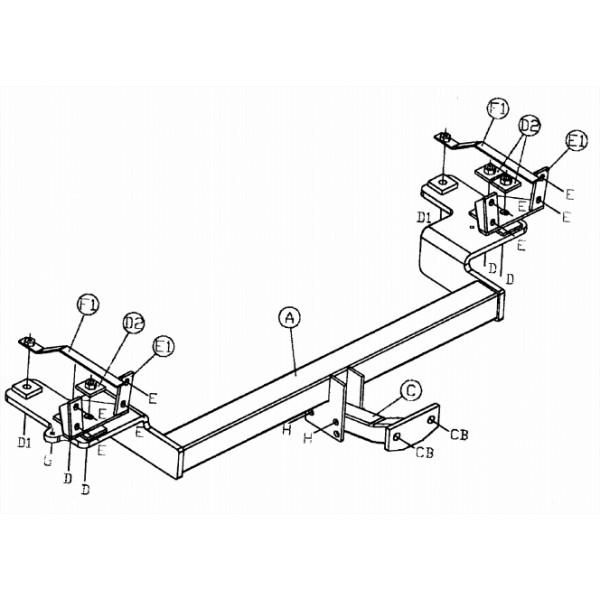 attelage volvo v70 standard faisceau universel 7 broches 13851. Black Bedroom Furniture Sets. Home Design Ideas