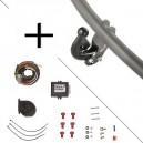 Attelage Skoda ROOMSTER PRAKTIK (01/07-) Col de cygne + faisceau universel 7 broches + boitier électronique