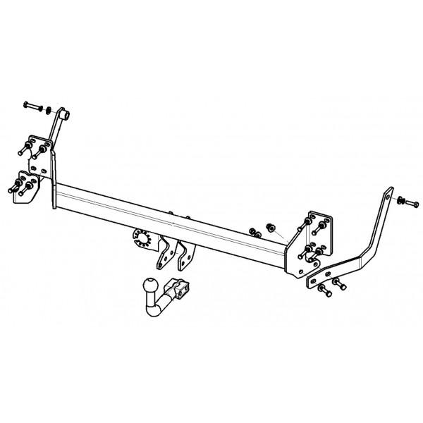 attelage citroen c5 break avec suspension hydractive col de cygne 12345. Black Bedroom Furniture Sets. Home Design Ideas