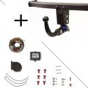 Attelage BMW Série 7 (05/05-12/08) RDSOV + faisceau universel 7 broche + boitier électronique