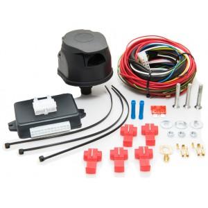 Faisceau universel 7 broches + boitier électronique pour véhicules multiplexés à LED ou ampoule à double intensité