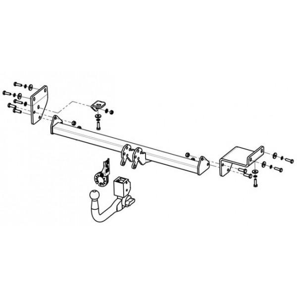 attelage kia soul rdsov faisceau universel 7 broches boitier lectronique 13039. Black Bedroom Furniture Sets. Home Design Ideas