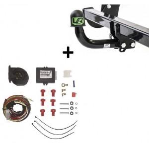 Attelage BMW X5 F15 (11/13-) Col de cygne + faisceau universel 7 broches + boitier électronique