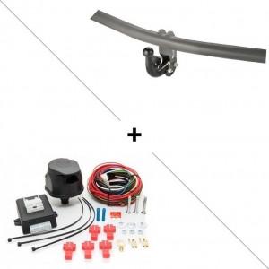 Attelage Chrysler 300 C (Break 01/04-11/11) Col de cygne + faisceau universel 7 broches + boitier électronique