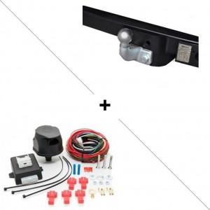 Attelage Nissan Interstar (04/10-) Standard + faisceau universel 7 broches + boitier électronique