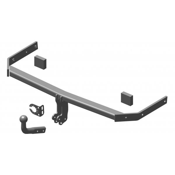 attelage volkswagen golf 6 col de cygne faisceau universel multiplex 7 broches 15012. Black Bedroom Furniture Sets. Home Design Ideas