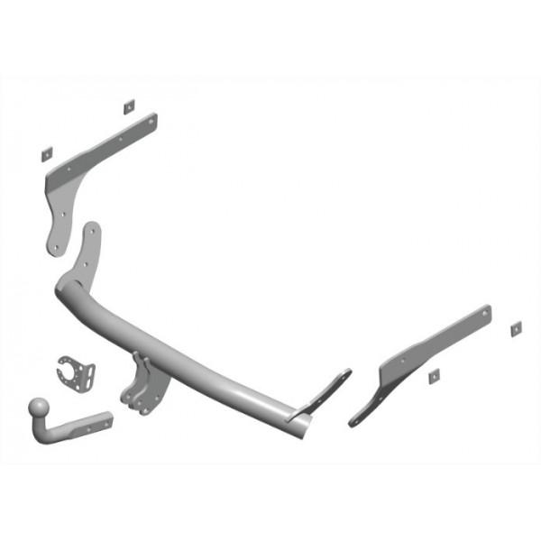 attelage dacia logan mcv ii break col de cygne faisceau universel multiplex 7 broches 15149. Black Bedroom Furniture Sets. Home Design Ideas