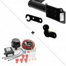 Attelage Fiat Scudo (03/07-) Standard + faisceau universel 7 broches + boitier électronique