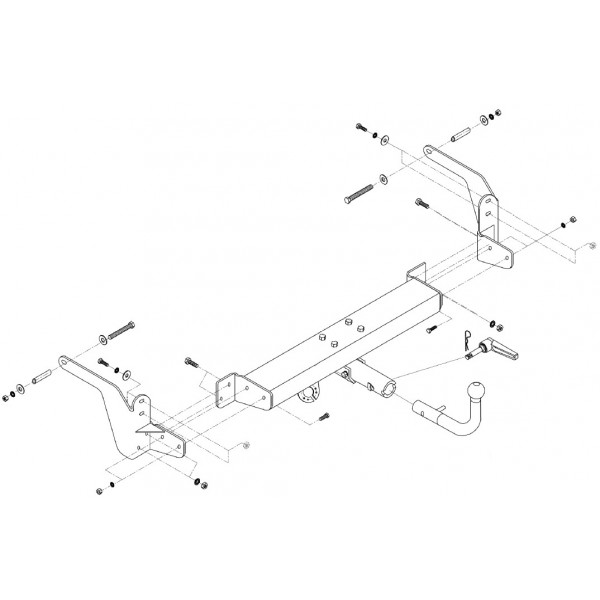 attelage renault laguna break rotule horizontale 6998. Black Bedroom Furniture Sets. Home Design Ideas