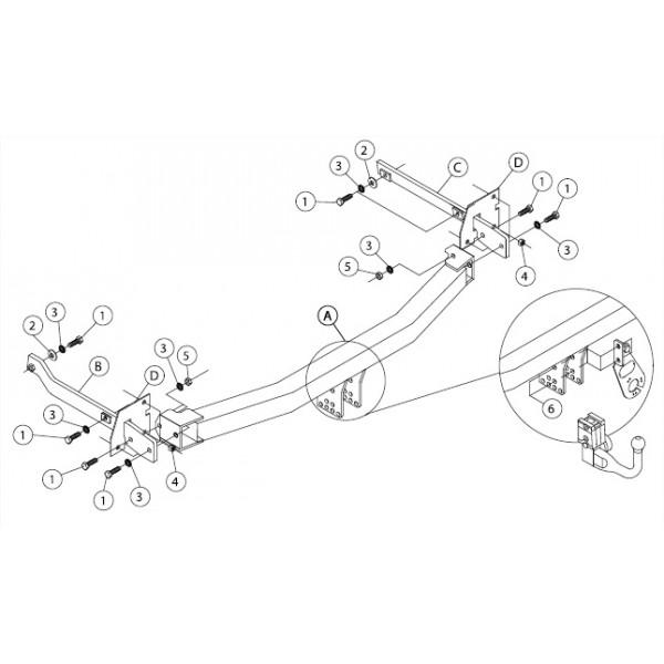 attelage renault scenic 3 rdsov faisceau universel 7 broches boitier lectronique 15483. Black Bedroom Furniture Sets. Home Design Ideas