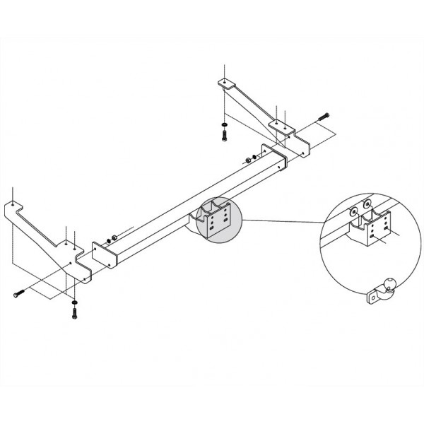 attelage opel vivaro b standard faisceau universel multiplex 7 broches 15647. Black Bedroom Furniture Sets. Home Design Ideas