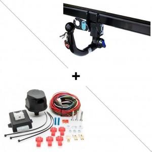 Attelage Seat Leon (07/09-11/12) RDSOV + faisceau universel 7 broches + boitier électronique