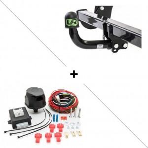 Attelage Honda CRV (11/12-) Col de cygne + faisceau universel 7 broches + boitier électronique