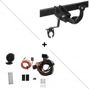 Attelage Toyota Prius pour porte-vélos + faisceau spécifique 13 broches (04/09-08/15) RDSOH