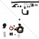 Attelage Volkswagen Golf 7 Electrique pour porte-vélos (04/17-06/19) RDSOV + faisceau spécifique 13 broches