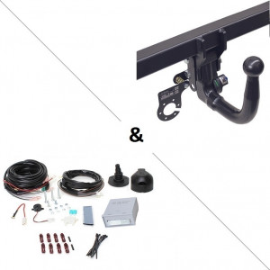 Attelage Fiat Doblo Workup (11/11-) RDSOV + faisceau universel 7 broches + boitier électronique