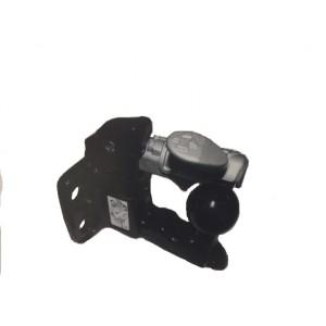 Crochet mixte 4 trous avec ouverture latérale diamètre 17 et entraxe 90x40