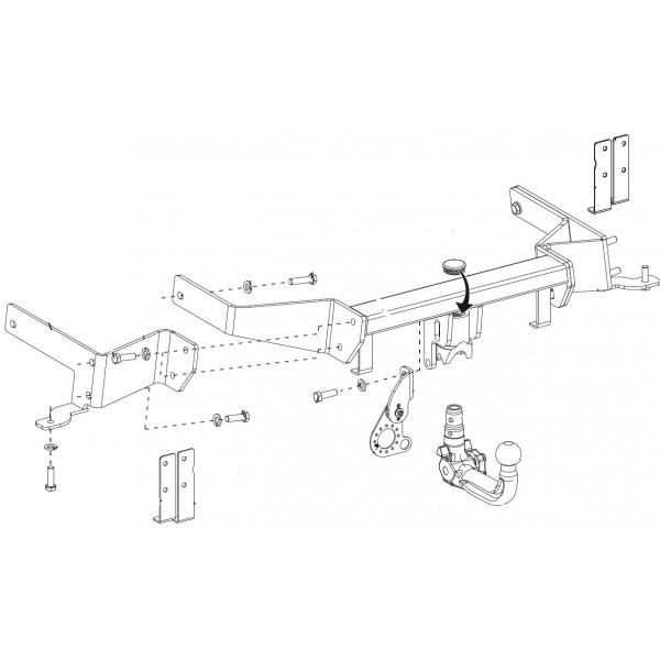 attelage chevrolet captiva rdsov faisceau universel 7 broches boitier lectronique 14302. Black Bedroom Furniture Sets. Home Design Ideas
