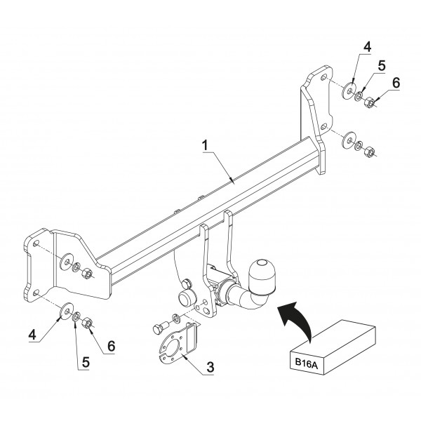 attelage bmw x3 rdsoh 16477. Black Bedroom Furniture Sets. Home Design Ideas