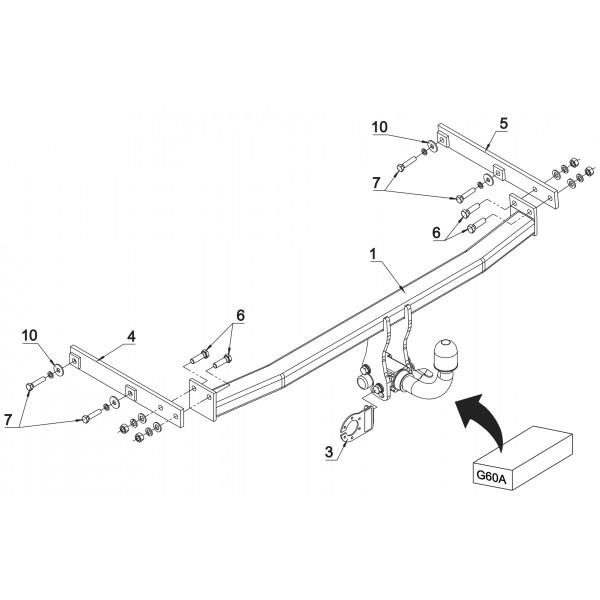 attelage renault grand scenic 3 rdsoh 16106. Black Bedroom Furniture Sets. Home Design Ideas
