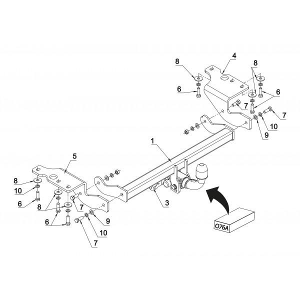 attelage toyota verso rdsoh faisceau universel multiplex 7 broches 21614. Black Bedroom Furniture Sets. Home Design Ideas