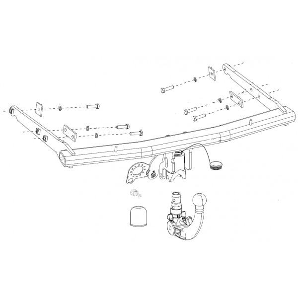 attelage ford s max rdsov faisceau universel multiplex. Black Bedroom Furniture Sets. Home Design Ideas