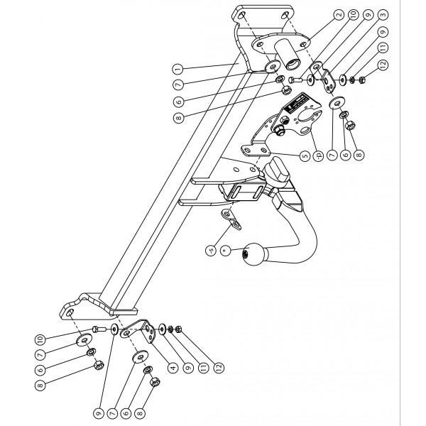 attelage bmw serie 7 g11 g12 rdsov faisceau universel multiplex 7 BMW G12 attelage bmw serie 7 g11 g12 y pris pack m 10 15 rdsov faisceau universel 7 broches boitier lectronique