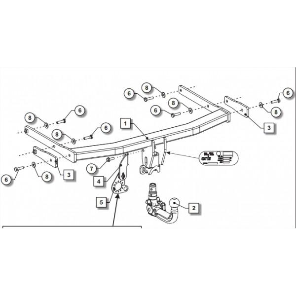 attelage audi q5 rdsov 24531. Black Bedroom Furniture Sets. Home Design Ideas
