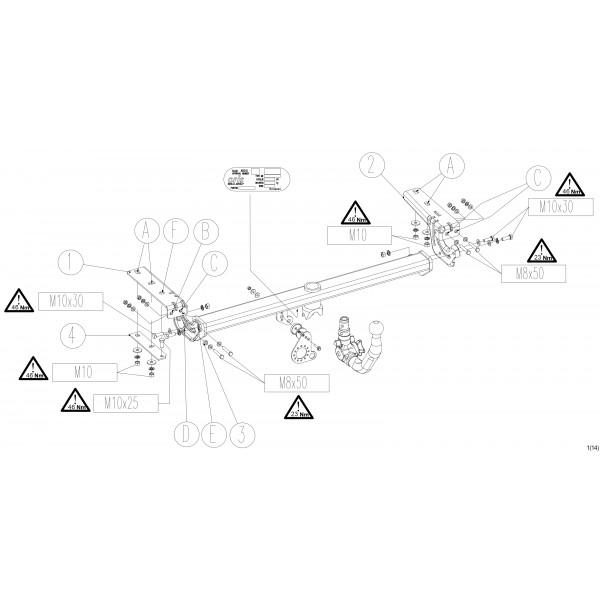 attelage peugeot 308 rdsov faisceau universel multiplex 7 broches 22371. Black Bedroom Furniture Sets. Home Design Ideas