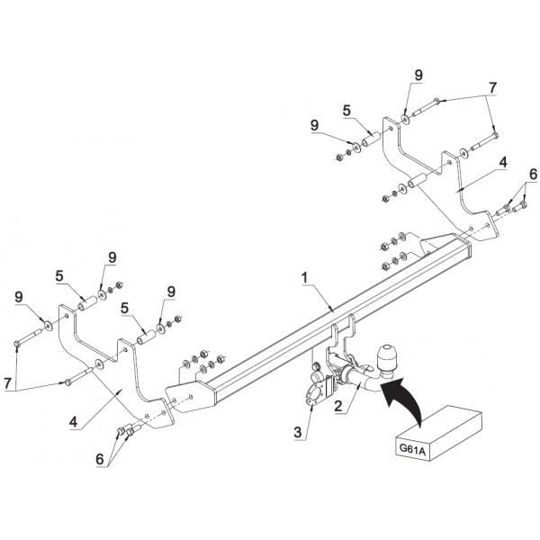 attelage dacia sandero stepway rdsoh 16109. Black Bedroom Furniture Sets. Home Design Ideas
