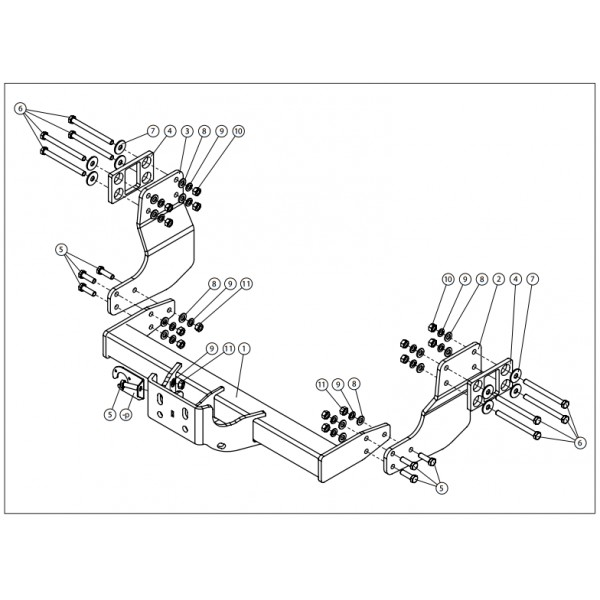 attelage volkswagen crafter standard faisceau universel multiplex 7 broches 24987. Black Bedroom Furniture Sets. Home Design Ideas