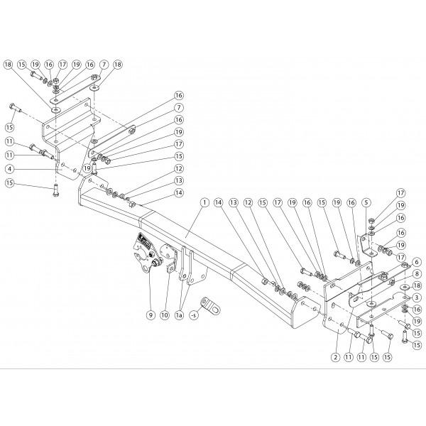 attelage nissan qashqai col de cygne 8272. Black Bedroom Furniture Sets. Home Design Ideas