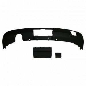 Bas de pare-chocs + trappe pour Audi A3 Cabriolet simple échappement (05/10-02/14)