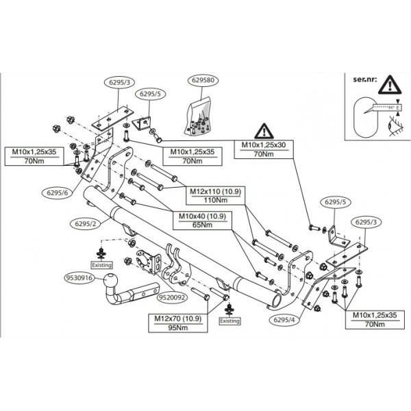 attelage citroen c4 aircross col de cygne 27273. Black Bedroom Furniture Sets. Home Design Ideas