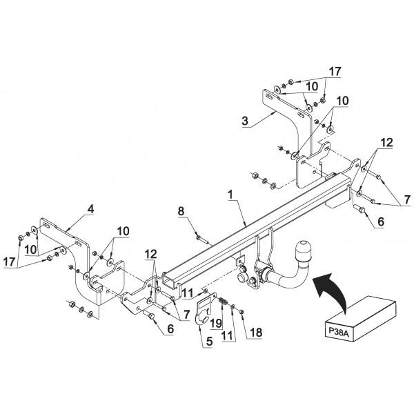 attelage citroen c4 spacetourer rdsoh 27679. Black Bedroom Furniture Sets. Home Design Ideas