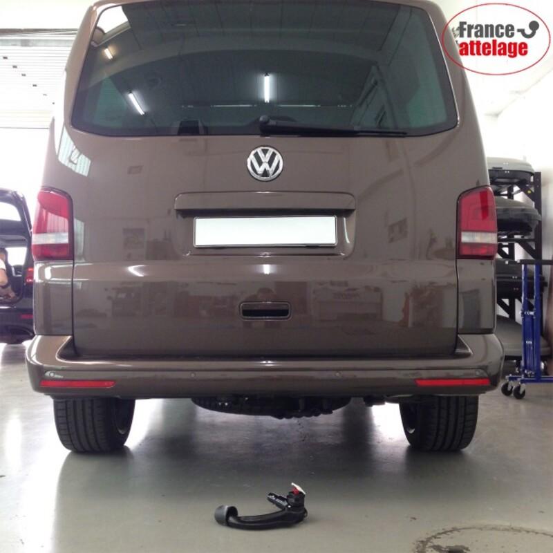 E-Jeu 13p NOS. Attelage rigide VW transporter t5 BUS 03-09 également avec prééclampsie
