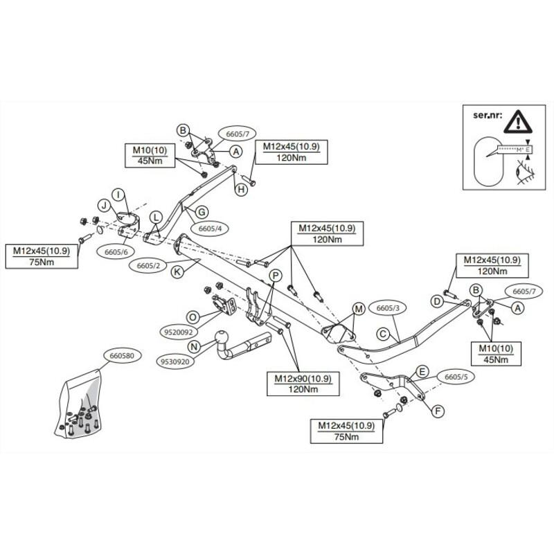 Faisceaux 7 Br pour Opel CAMPO PICK-UP 4WD 97 Attelage Démontable 17002/_B3